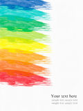 abstrakcjonistyczna tła koloru woda Zdjęcia Stock