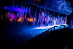 abstrakcjonistyczna tła koloru woda Zdjęcie Royalty Free