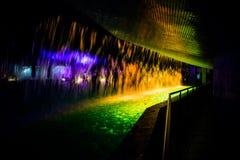 abstrakcjonistyczna tła koloru woda Obrazy Royalty Free