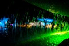 abstrakcjonistyczna tła koloru woda Obraz Stock