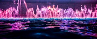 abstrakcjonistyczna tła koloru woda Fotografia Royalty Free