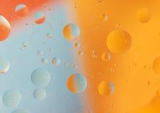 abstrakcjonistyczna tła kropel woda Zdjęcia Royalty Free