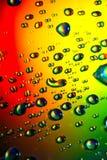 abstrakcjonistyczna tła kropel woda Obrazy Stock
