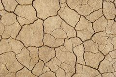Abstrakcjonistyczna tło szczelina glebowy klimat Fotografia Stock