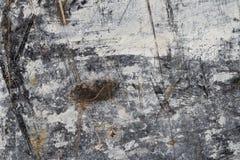 Abstrakcjonistyczna tło tekstura w bielu i Brown na czerni II zdjęcia royalty free