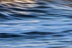Abstrakcjonistyczna tło woda, fala, pluskocze Fotografia Stock
