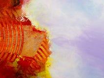 Abstrakcjonistyczna tapeta, tekstura, tło zakończenie czerep Fotografia Royalty Free