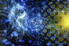 abstrakcjonistyczna technologia Zdjęcie Stock