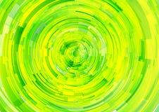 Abstrakcjonistyczna technologia okrąża wektorowego tło Fotografia Stock