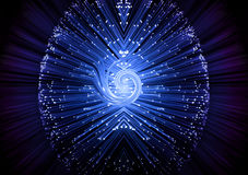 abstrakcjonistyczna technologie informacyjne Zdjęcia Royalty Free