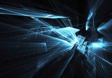 Abstrakcjonistyczna technologii ilustracja, ilustracja Fotografia Stock
