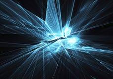 Abstrakcjonistyczna technologii ilustracja, ilustracja Zdjęcia Stock
