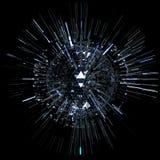 Abstrakcjonistyczna technologii sfera Obrazy Stock