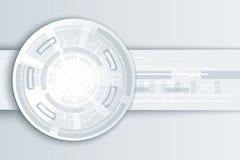 Abstrakcjonistyczna technologii tła ilustracja Zdjęcia Stock