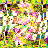 Abstrakcjonistyczna tekstura druk tkanina dla tła Obrazy Royalty Free