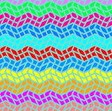 Abstrakcjonistyczna tekstura z geometrycznym wzorem ilustracji