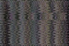 Abstrakcjonistyczna tekstura z wideo usterka błędem dla tła obrazy stock