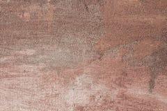 Abstrakcjonistyczna tekstury czerwieni ściana jako rocznika tło Obrazy Royalty Free