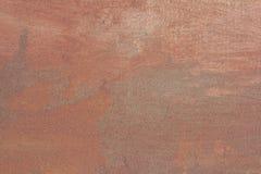 Abstrakcjonistyczna tekstury czerwieni ściana jako rocznika tło Fotografia Stock