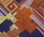 Abstrakcjonistyczna tkanina Zdjęcia Royalty Free