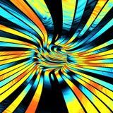 Abstrakcjonistyczna tunelowa ilustracja Zdjęcie Royalty Free