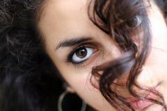 abstrakcjonistyczna twarz Zdjęcie Royalty Free