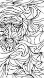 Abstrakcjonistyczna wektorowa mozaika lubi tło royalty ilustracja