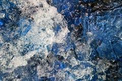 abstrakcjonistyczna woda Obrazy Stock