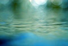 abstrakcjonistyczna woda Zdjęcia Royalty Free