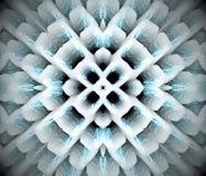 Abstrakcjonistyczna wyrzucona mandala 3D ilustracja Fotografia Stock