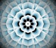 Abstrakcjonistyczna wyrzucona mandala 3D ilustracja Zdjęcie Royalty Free