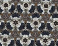 Abstrakcjonistyczna wyrzucona wzoru 3D ilustracja Fotografia Royalty Free