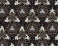 Abstrakcjonistyczna wyrzucona wzoru 3D ilustracja ilustracji