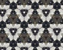 Abstrakcjonistyczna wyrzucona wzoru 3D ilustracja Obrazy Royalty Free