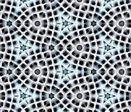 Abstrakcjonistyczna wyrzucona wzoru 3D ilustracja Zdjęcia Stock