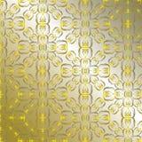Abstrakcjonistyczna złota tapeta ilustracja wektor