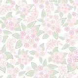 Abstrakcjonistyczna zawijasa kwiatu tekstura Obrazy Royalty Free