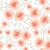 Abstrakcjonistyczna zawijasa kwiatu tekstura Obraz Royalty Free