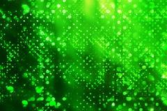 abstrakcjonistyczna zieleń Fotografia Stock