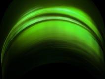 Abstrakcjonistyczna zielona fala Ilustracji