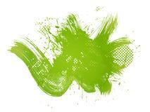 abstrakcjonistyczna zielona ilustracja Obrazy Stock