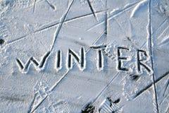 abstrakcjonistyczna zima zdjęcia stock