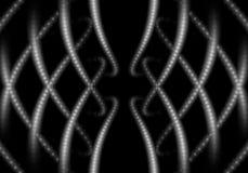 Abstrakcjonistyczne błyszczące kropki Zdjęcie Royalty Free