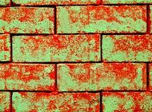 abstrakcjonistyczne cegły Zdjęcia Stock