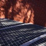 abstrakcjonistyczne cegły Fotografia Stock