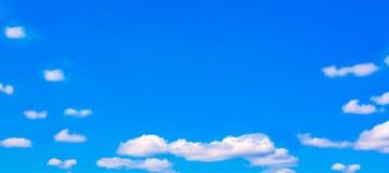 abstrakcjonistyczne chmury Zdjęcie Stock