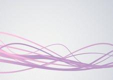 Abstrakcjonistyczne communicational fala - dane strumienia conce Fotografia Royalty Free