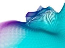 Abstrakcjonistyczne cząsteczki Technologia styl tło abstrakcjonistyczna plama B fotografia stock