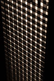 Abstrakcjonistyczne czarny i biały linie Zdjęcie Stock
