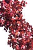 Abstrakcjonistyczne czerwieni gwiazdy Obraz Royalty Free